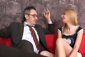pervy old teacher receives it is on with the