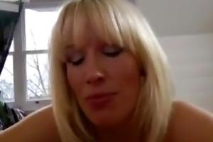 british blond fucking an aged stud