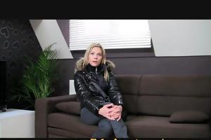 fakeagent blondie craves to be porn star