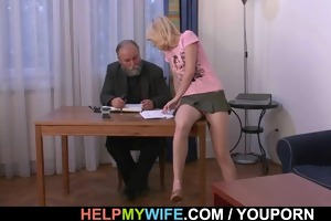 his young wife is lust for cock