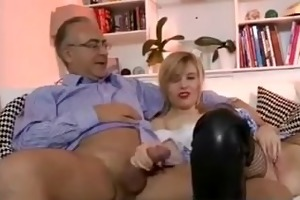 mature lad bonks hot younger beauty