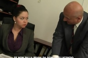 secretary screwed by her much aged boss