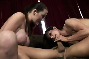 mother and daughter cocksucking contest