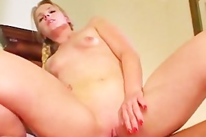 youthful daughter humiliated in her face hole and