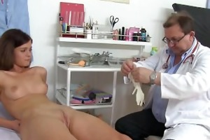 medic acquires fingers in veronicas vagina