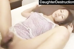 dad loves a fine japanese legal age teenager