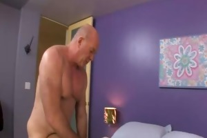 cute juvenile whore bonks her old neighbour