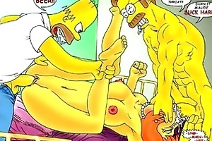 simpsons family sex