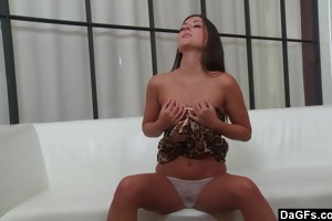 consummate dark brown orgasming