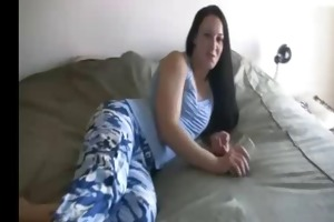 daddy jerk off for not her daughter