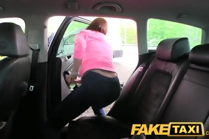 faketaxi college gal with large natural melons