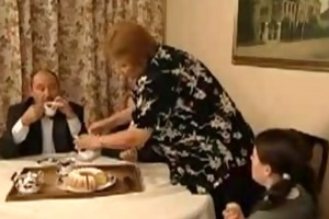 an mature pair give a younger woman a hard lesson
