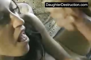 daughter hard screwed