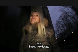 publicagent stunning blonde, breathtaking reality