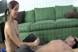 sweet little sister part 5 - cum on pantyhose