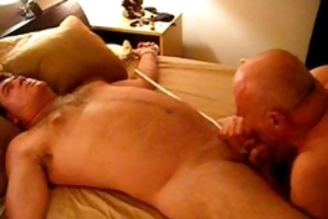 daniel got bound up and sucked by a dad next door