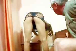 old daddy screwed his sons youthful italian wife