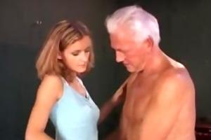 older man nailing 2 gals