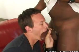 large schlong stud pounding threesome dilf wazoo