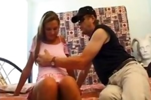 czech cutie in st auditions with older french man