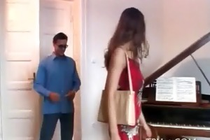 legal age teenager dirty cleft is fucked well