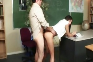 nadia aria - wicked student screwed by wicked