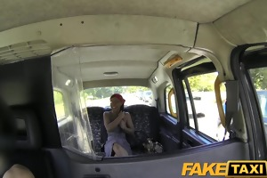 faketaxi dick loving passenger sucks off taxi dude