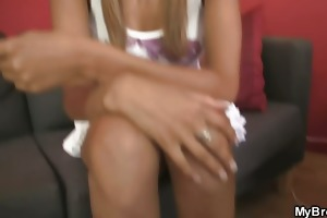 family oral-service orgy whilst her bf away