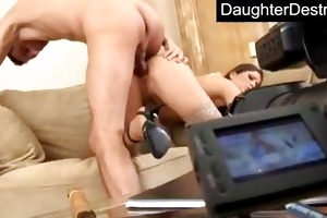 legal age teenager daughter brutally fucked into