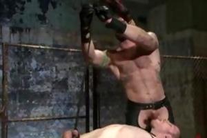 fresh slavemaster aleks buldocek torments bondman