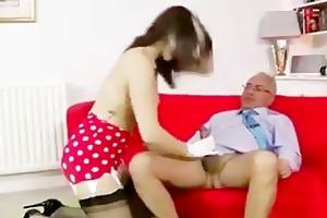 dark brown youthful cutie oral stimulation