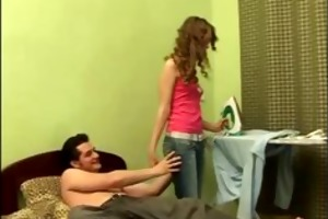 sexually excited euro legal age teenager in